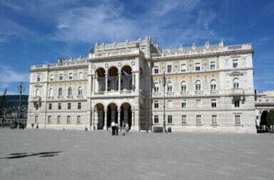 Palazzo della Prefettura Trieste
