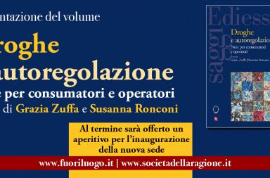 Droghe e autoregolazione a Firenze