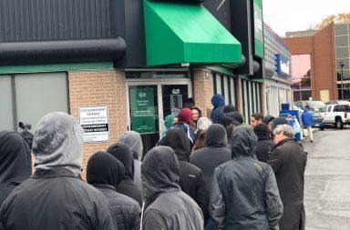 Code allo store di cannabis di Quebec City