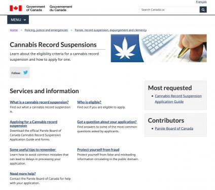 Perdono cannabis canada