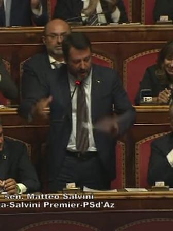 Salvini Senato Cocaina legalizzazione droghe
