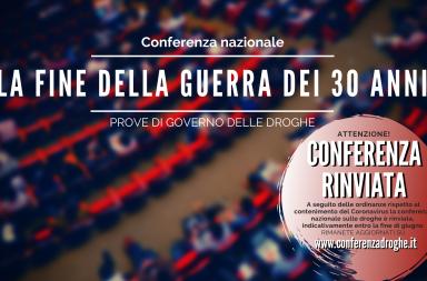 coronavirus conferenza droghe