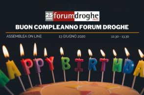 Buon compleanno Forum Droghe