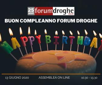 25esimo forum droghe