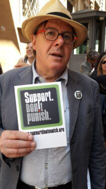 Support! Don't Punish.