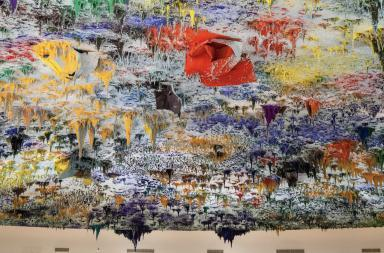 Ceiling of the UN Human Rights and Alliance of Civilizations Room, Geneva. Photo: Tom Page / flickr