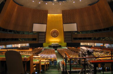 Assemblea Generale dell'ONU, New York - foto di rabendeviaregia, CC BY-SA 2.0 , via Wikimedia Commons