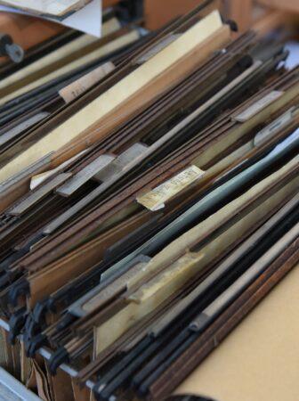 archivio cassetto